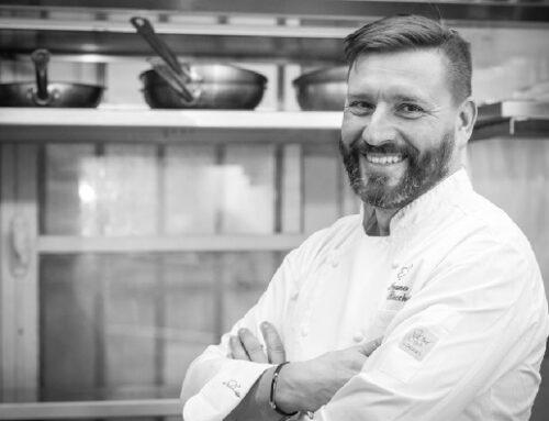 Chef Ivano Ricchebono alla gestione della storica caffetteria Vedova Romanengo di Genova